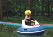 Бассейн для аттракциона с бамперными лодочками