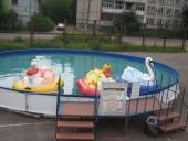 Причал для бассейна многоугольного